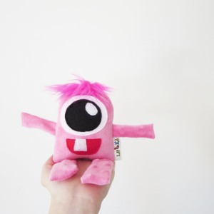 baby girl monster toy