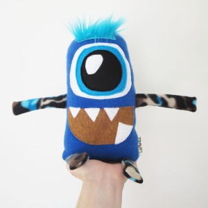 cute ecofriendly stuffed monster toy