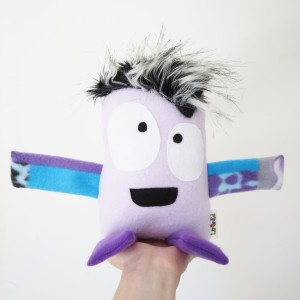 super cute handmade and ecofriendly monster toy for kids
