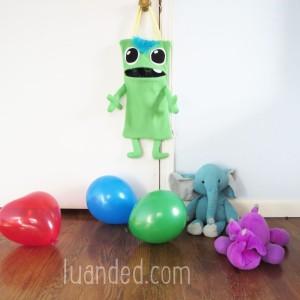 cute green monster