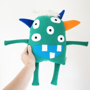 handmade ecofriendly monster toy for children