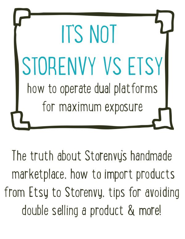 Storenvy vs etsy, etsy, storenvy, ecommerce, online selling, small business