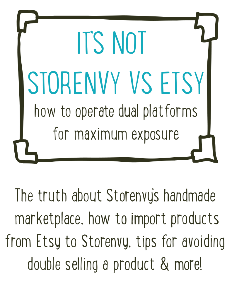 Storenvy vs etsy, etsy, storenvy, ecommerce, online selling, small business