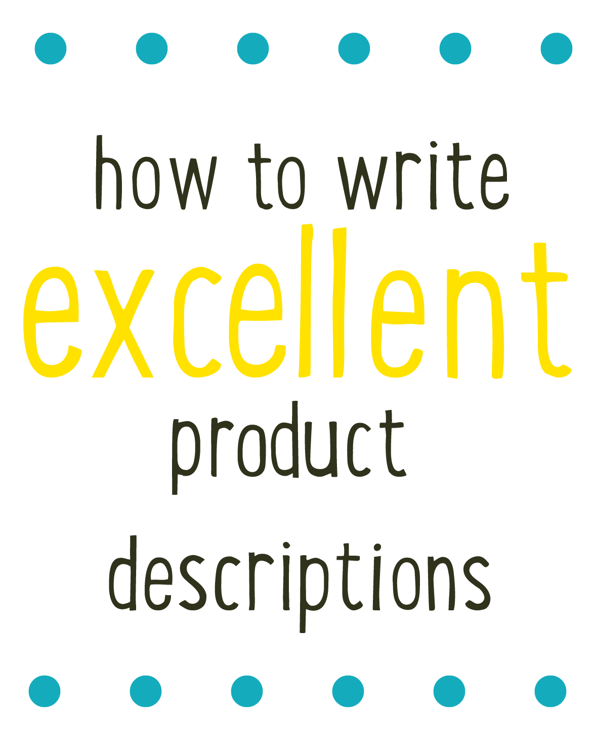 writing product descriptions It's an easy mistake even professional copywriters make it sometimes: writing product descriptions that simply describe your products why is it wrong because product descriptions need to sell your products.