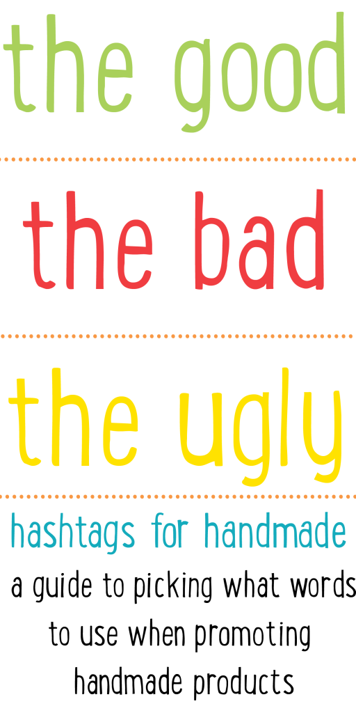 How to use hashtags to promote your handmade business