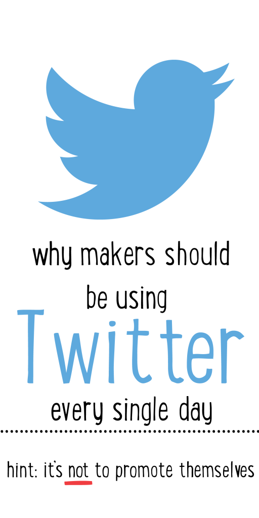 Why makers should be using twitter